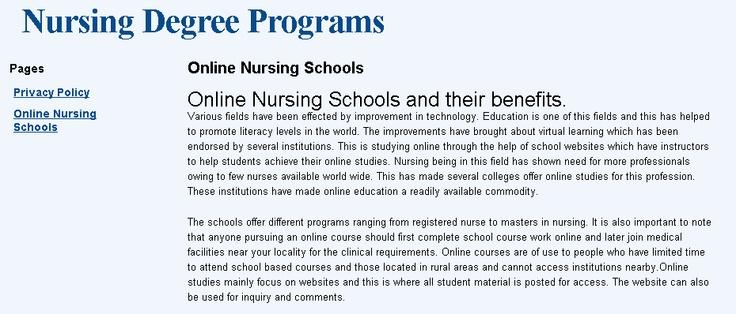 Awesome! Online Nursing Schools and their benefits >>Online Nursing Schools , Nursing Degree Programs , Accredited Online Nursing Schools , Online Nursing Degree , Online Schools For Nursing --> http://onlinenursingschools.biz