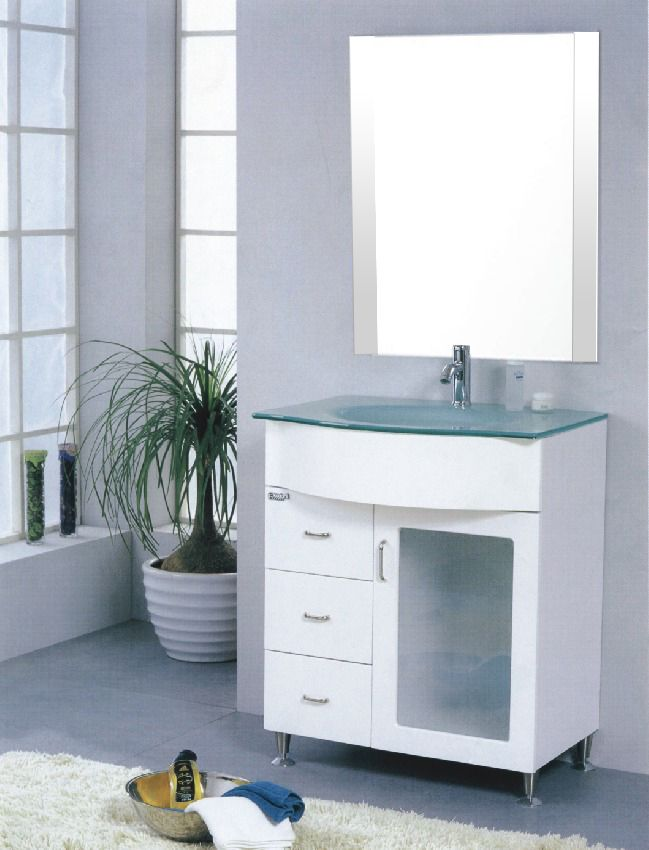 Photo Gallery On Website Glass Top White Vanity u Tile Solutions Tile and Stone