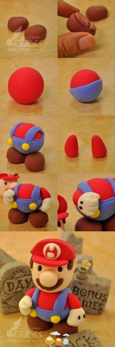Fimo Super Mario ~ Anleitung