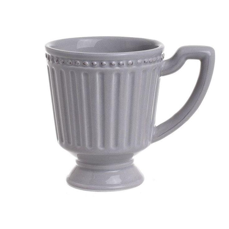 Ceramic Mug Set Of 2 Pieces - inart