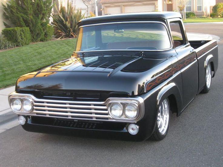 1958 Ford Pickup Truck Mitula Cars Old Trucks