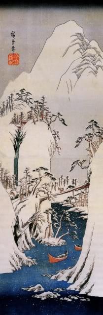 Tranquil splendor. Japanese art ::HIROSHIGE. @Estee Ikemoto via Sharon Edwards