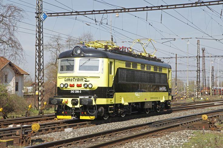 242 086 Loko Train Tschechien