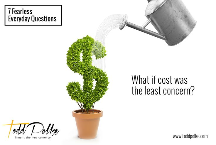 What if cost was the least concern?