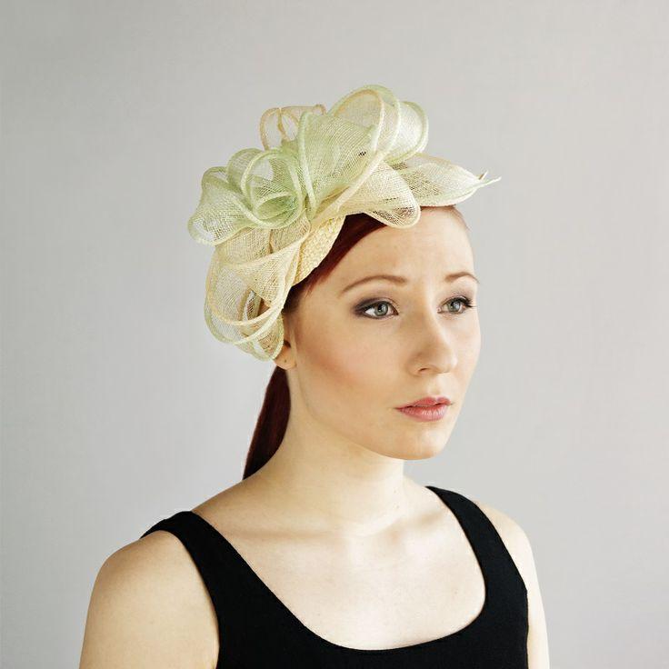 av Annina SS 2014 fascinator, pastels, mint greent, pale pink www.avannina.fi #avannina #fascinator