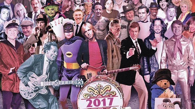 British artist updates Beetles' Sgt Pepper cover featuring 2017's dead celebrities