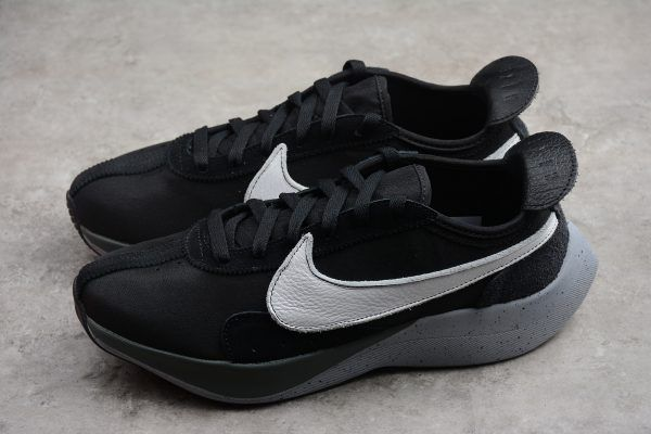 best sneakers 1f885 33215 2018 Nike Moon Racer Permission For Takeoff Black White Wolf Grey AQ4121-001 -1