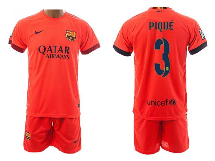 Nike 2014/15 FC Barcelona Extérieur Maillot de foot Pour Homme PIQUE 3 - 1410173097 - Boutique Chaussures De Football,Maillot De Foot!