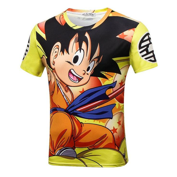 Dragon Ball Kid Goku Shenron Yellow T-shirt. 100% Cotton and Polyester blend, custom made sublimation printed technique and hand sewn hoodies, t-shirts, and long sleeves clothing.   For our 3D clothing, unless there is a picture on the back for our product images, all of our 3D clothing are printed front and back with the same image.                 FREE Shipping  NOT SOLD IN STORES          Gender: Unisex  Material: Cotton, Polyester Spandex Blend Machine Washable and Dryer Safe     Be...
