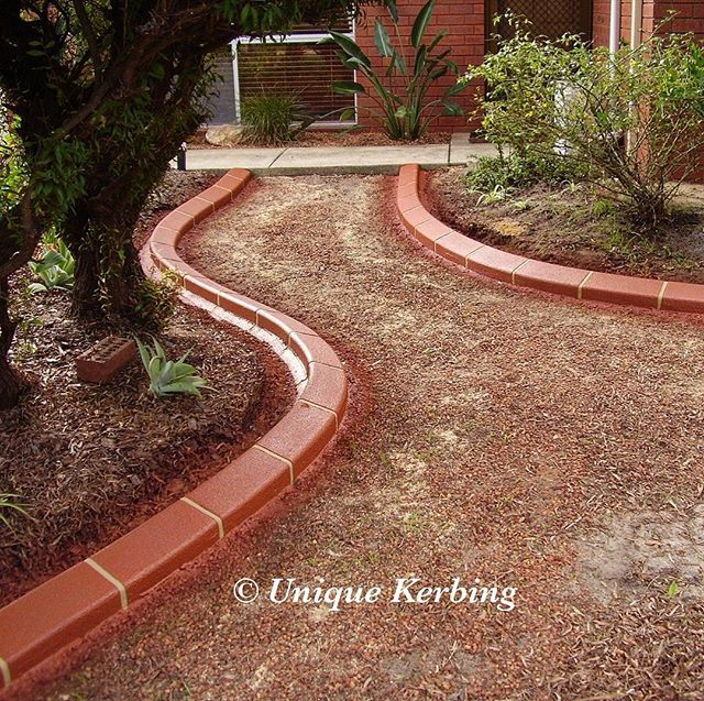 Kerbing That Matches The House Bricks Our Terracotta Glazed