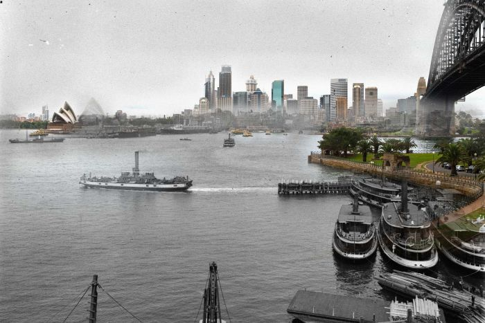 Then and now photos from Australia 1914 & 2014 (3/13)