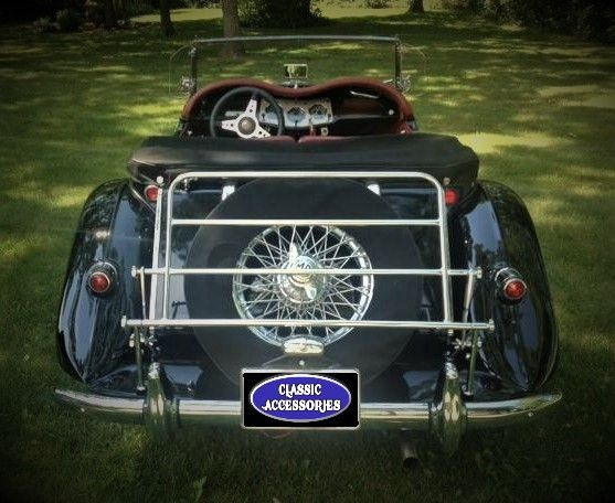 The Folding Luggage Carrier for the MG TF