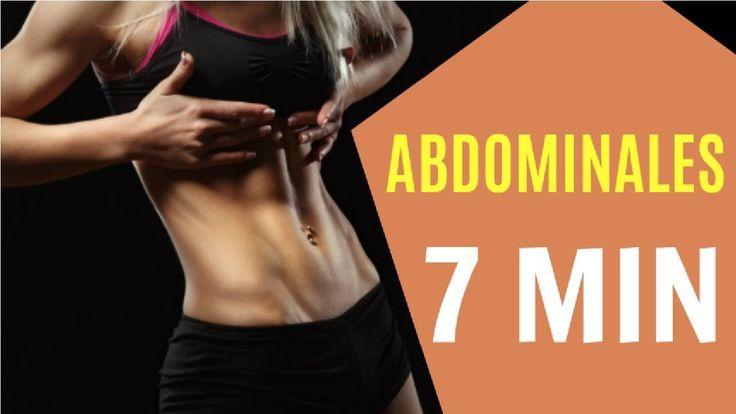 Solo 7 minutos de Ejercicios para desarrollar abdomen y eliminar la grasa del vientre. No olvides complementar con Cardio y tener una buena alimentación para encontrar mejores resultados.     #ejercicio #fitness #salud #exercise #deportes #abdomen #gym