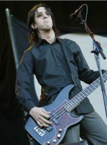 Jeordie White (a.k.a. Twiggy Ramirez) - Vocals, songwriter, guitar, bass, keyboards for A Perfect Circle, Marilyn Manson, Nine Inch Nails, Goon Moon, Amboog-a-Lard, Satan on Fire, Mrs. Scabtree, Melissa Auf der Maur, The Desert Sessions & Oasis