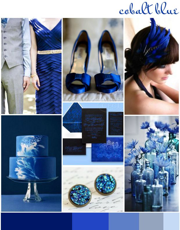If you prefer your colour combinations a tad more mixed up, check out these colour ideas for cobalt blue. Description from wantthatwedding.co.uk. I searched for this on bing.com/images