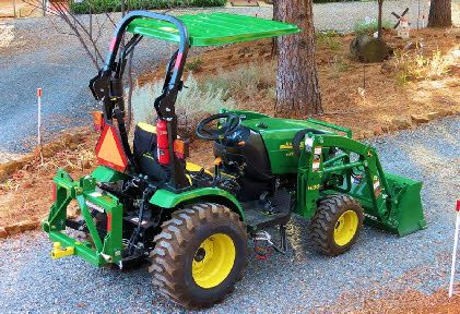 Our Canopy is not brand specific. It doesn't care what ROPS (Roll over Protection System) they attach to. They are unique in that the Universal Mounting System enables an extreme variation of different ROPS styles & then lets you mount at any height. Will fit up to 2 1/4″ x 4″ ROPS. 7 colors available to fit your tractor/mower with Roll Over Protection System.