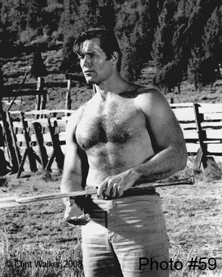 Clint Walker: The Big Guy Himself   From My Collection!