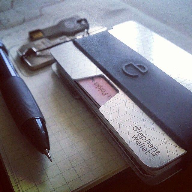 N wallet, elephantwallet, wallet, slim wallet, minimalist wallet