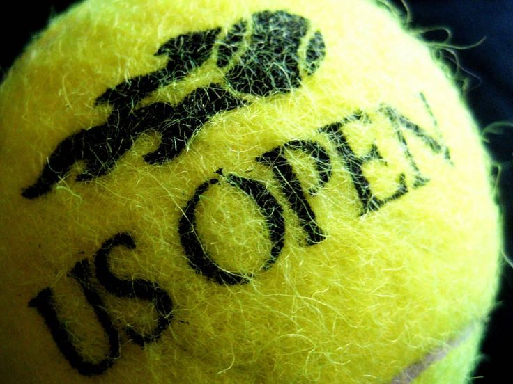 For the love of tennis - US Open Baby!