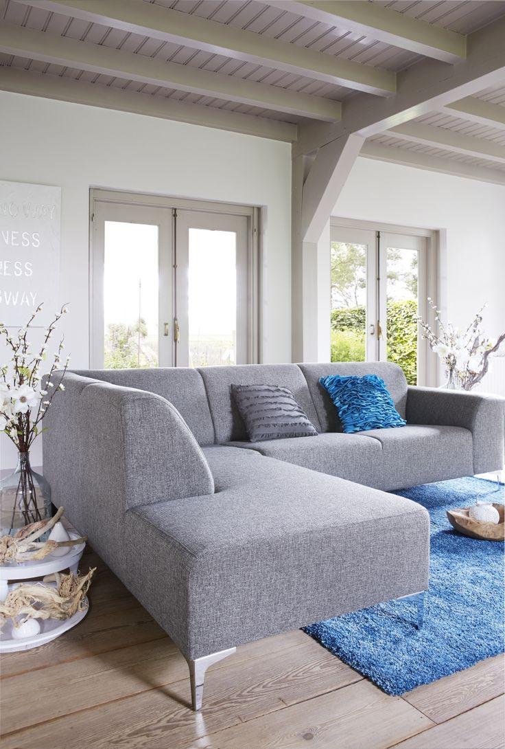 Hoekbank Brooklyn. Mooie moderne zithoek met een hoge kwalitatieve afwerking en een zeer goed zitcomfort. Leverbaar in diverse uitvoeringen in stof, lederlook en leer.