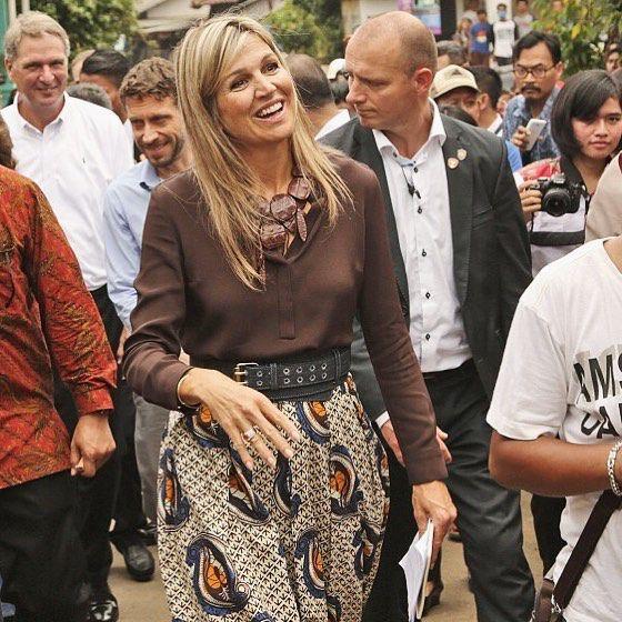 31-08-2016 Koningin Maxima in Indonesië voor de Verenigde Naties voor Inclusieve…