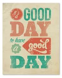 good day...