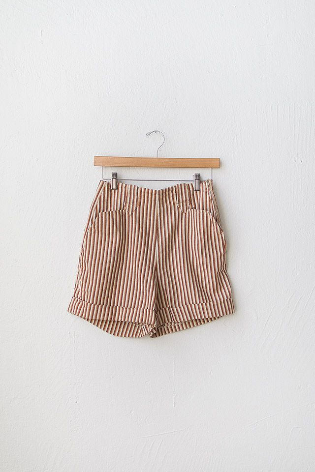 vintage 1950s shorts | high waist shorts | Painted Desert Shorts | $68