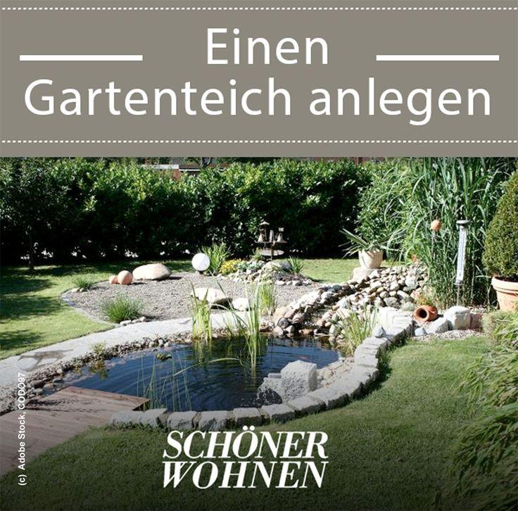 Gartenteich Anlegen Bepflanzen Pflegen Gartenteich Teich Garten