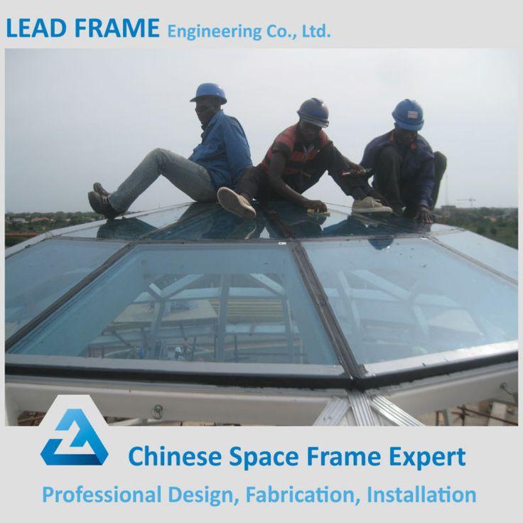 High Quality Easy Install Geodesic Fiberglass Dome