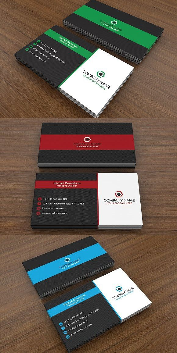Corporate Business Card 03 Create Business Cards Cheap Business