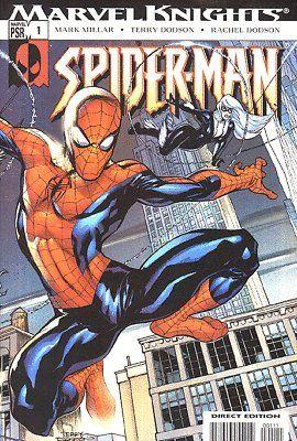 MARVEL KNIGHTS SPIDER-MAN #1 VF/NM - NM MILLAR DODSON @ niftywarehouse.com #NiftyWarehouse #Spiderman #Marvel #ComicBooks #TheAvengers #Avengers #Comics