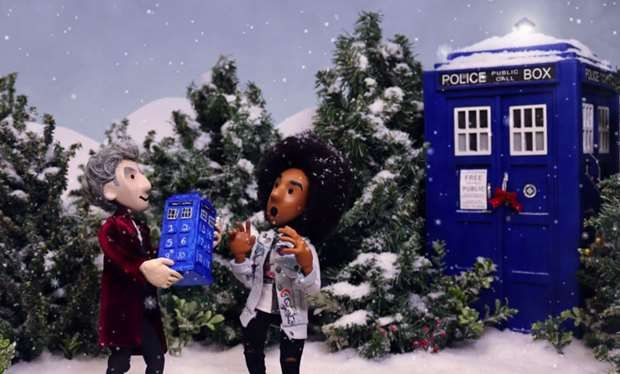 Watch this amazing animated 12 Doctors of Christmas puppet show