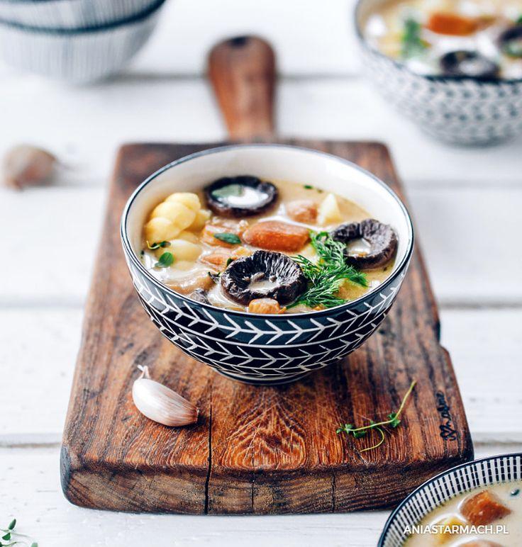 Zupa, dzięki której cudowny, leśny zapach grzybów wypełni cały dom. – Ania Starmach