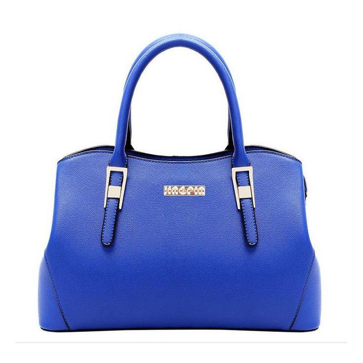 Encontrar Más Top-Handle Bags Información acerca de Moda de lujo del diseñador bolso de cuero de cuero de la PU solid mujeres Messenger Bag de la cremallera del cerrojo para las muchachas del bolso de hombro BH1003, alta calidad Top-Handle Bags de WOFE BAG STORE en Aliexpress.com
