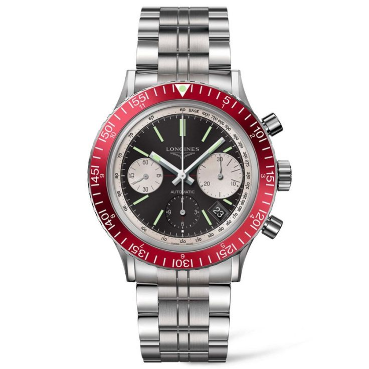 Reloj Longines Heritage Diver Hombre cronógrafo L28084526