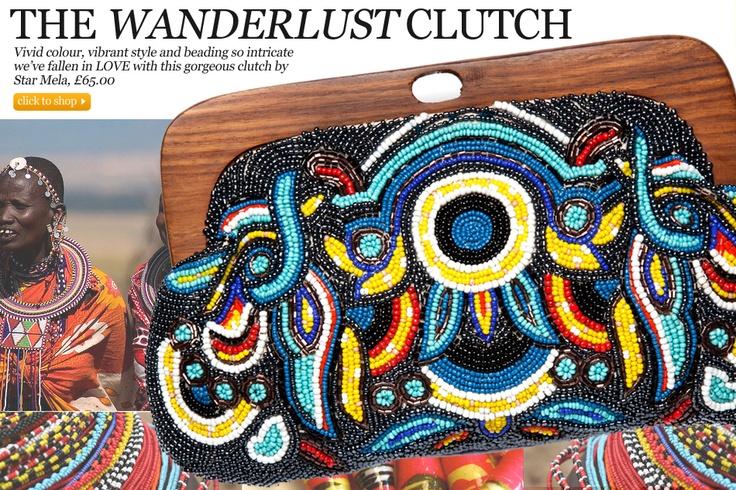 The Wanderlust Clutch - Starmela