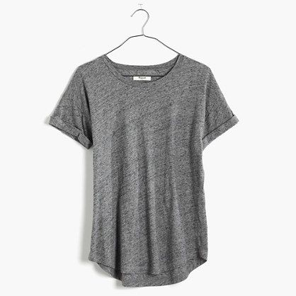 Whisper Cotton Crewneck Tee : AllProducts   Madewell