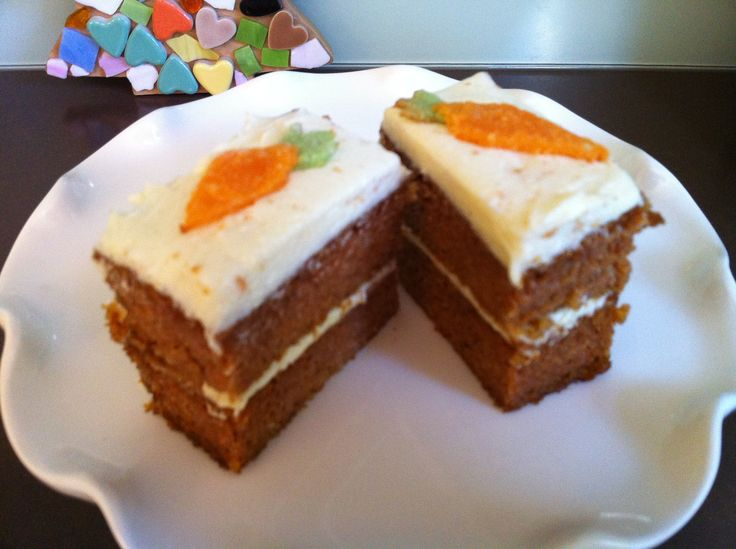 Ketogenic diet recipe for Carrot Cake