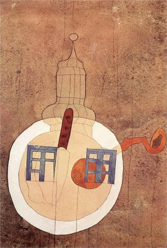Tower with Still-life on a Plate - Vajda Lajos - WikiPaintings.org