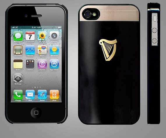 Apple iPhone 4 Case Pint of Guinness  Hard Fitted by Studio867, $16.00Iphone Cases, 16 00, Iphone 4S, Apples Iphone, Apple Iphone, Studio867, Iphone 4 Cases, Cases Pint