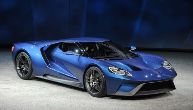 American Car Manufacturer, Ford Introduced The First New Sports Car, The  Ford GT In