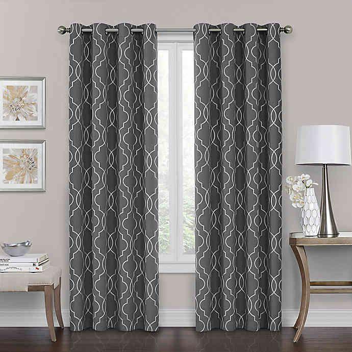 Brent Grommet 100 Blackout Window Curtain Panel Bed Bath