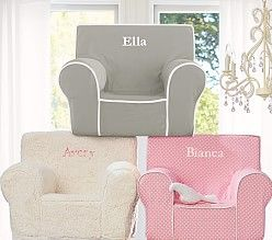 Gifts Under $100 | Pottery Barn Kids Girls' Anywhere Chair Collection