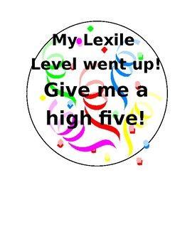 Achieve 3000 Lexile Level Celebration Pin