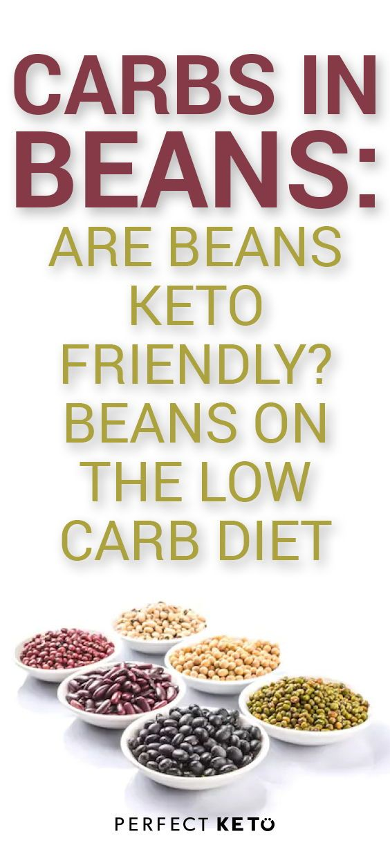 beans on no carb diet