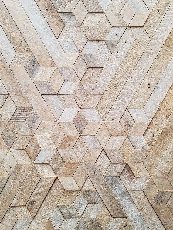 Reclaimed Wood Wall Art Queen Headboard Wood Wall Art