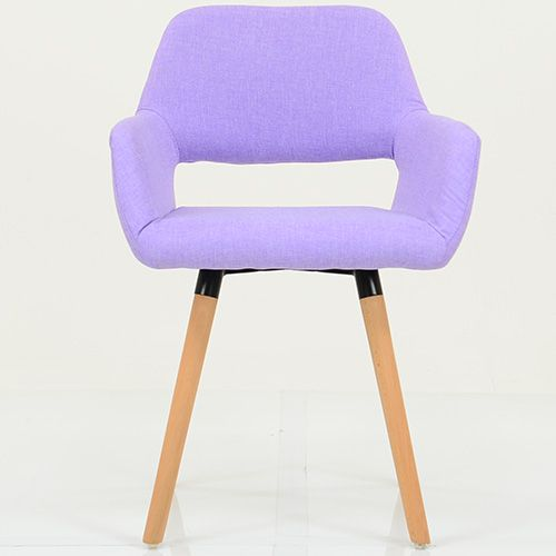 STOCKHOLM PURPLE FABRIC DINING CHAIR The Stockholm Purple Fabric Gives A  Look Of Glamour To This