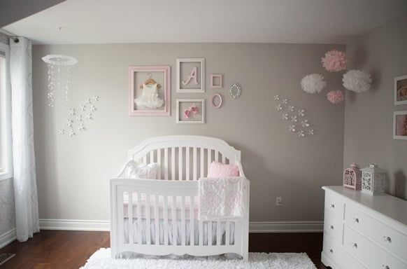 Inspiring List Of 100 Beautiful Baby Girl Nursery Ideas Baby Girl Room Baby Girl Bedroom Girl Nursery Room
