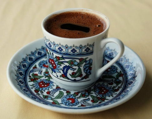 Love Turkish Coffee And This Beautiful Cup Saucer