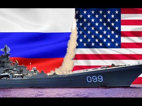 Российский крейсер «отправил на дно» американский линкор «Айова»